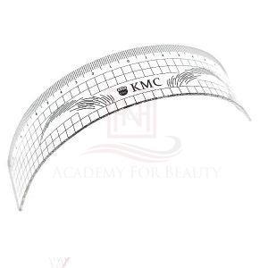 Augenbrauen Lineal zum Abmessen der Augenbrauen